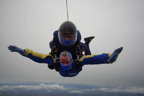 Chris Hobbs skydive
