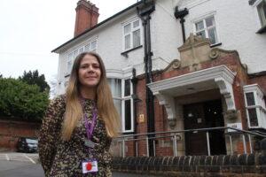 Palliative care lead Kate Martin
