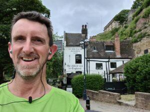Virtual London Marathon runner