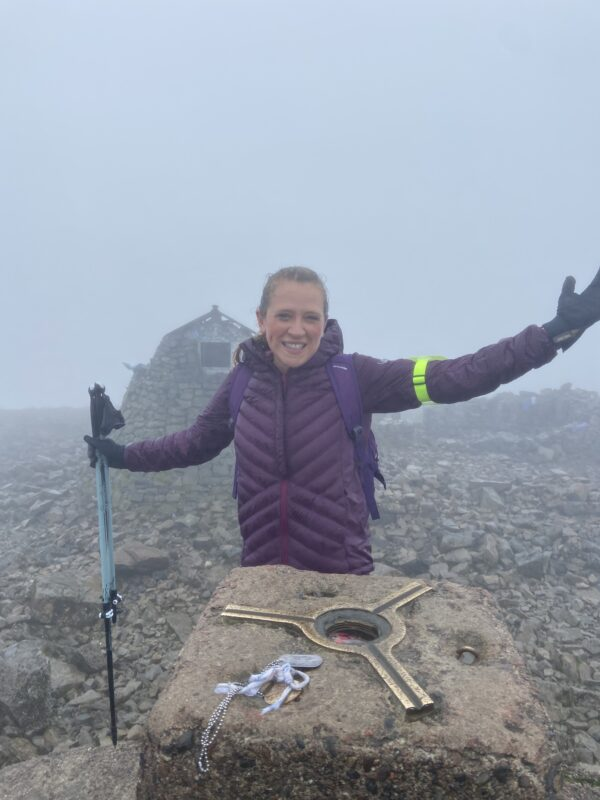 Sian tackles Three Peaks for Nottinghamshire Hospice