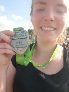 Roisin Robin Hood Half Marathon runner