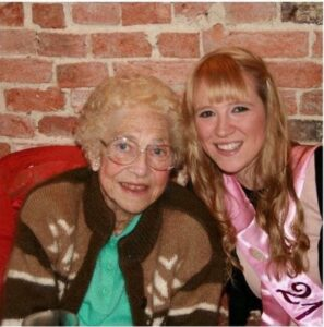 Sian and her grandma